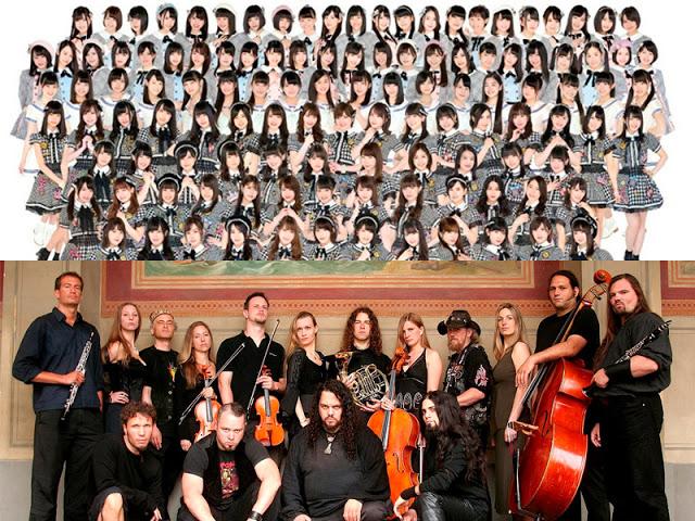 Grupos musicales numerosos